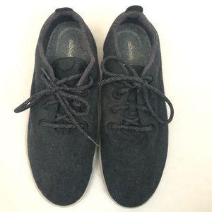 Men's Allbirds Wool Runners Charcoal Grey. Sz 13